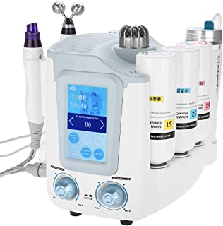 Hydro Spa Machine, 3-in-1 Oxygen micro Bubble Face Skin Moisturizing Machine with Touch Operation Panel for Home and Salon Use(#4)