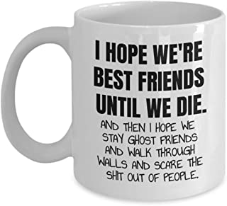 Best Friend Mug Great Gift Item Present Funny Friendship Humour Christmas Birthday Female Male Men Women Happy 70th