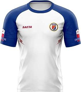 SAETA Men's Haiti Away Jersey (Fan Replica)