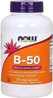 Now Foods La vitamina B-50-250 vcaps 250 Unidades 200 g