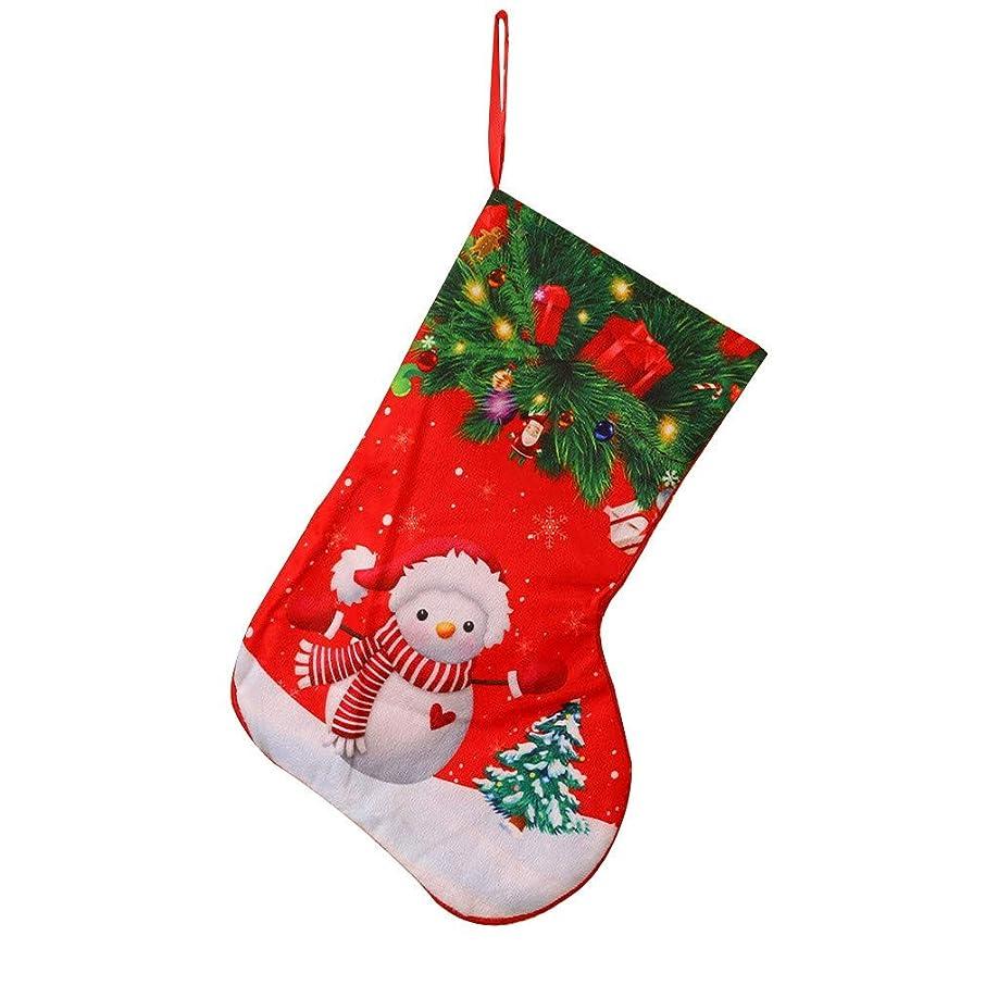 周波数賭けドラゴンクリスマスストッキングミニソックスサンタキャンディギフトバッグクリスマスツリーの装飾