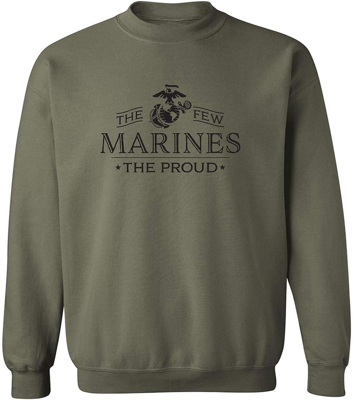 The Few The Proud The Marines Crewneck Sweatshirt