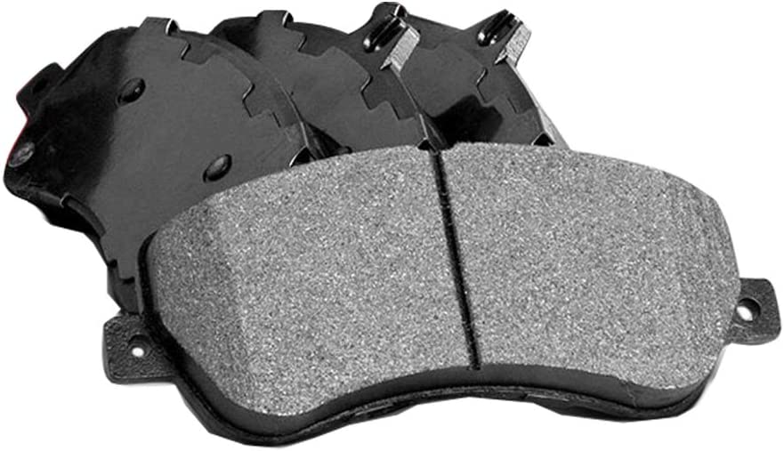 AutoDN Front Posi-Quiet Semi Metallic Finally resale start With Compatible Max 64% OFF Brake Pads