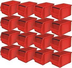 """'16x Visión Caja""""Classic Fb 3con barra, medidas 350/300x 200x 200mm, contenido 12L), color rojo"""