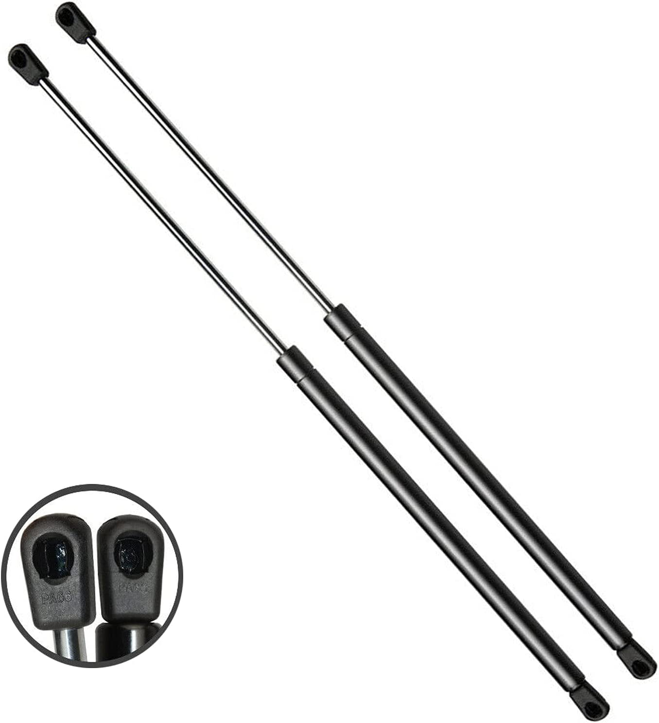 Manufacturer regenerated product Set Max 45% OFF of 2 Rear Trunk Hatch Shock Liftgate Support Strut for Lift