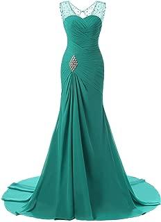 Best seafoam green mermaid prom dress Reviews
