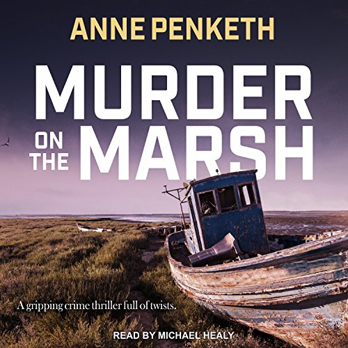 Murder on the Marsh audiobook cover art