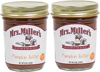 Mrs. Miller's Amish Made Pumpkin Butter 9 Ounces - 2 Pack