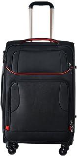 タノビ (TANOBI) ソフトケース スーツケース フロントポケット 大容量 TSAロック付 ファスナー開閉式 消音360度キャスター(一年安心保証)