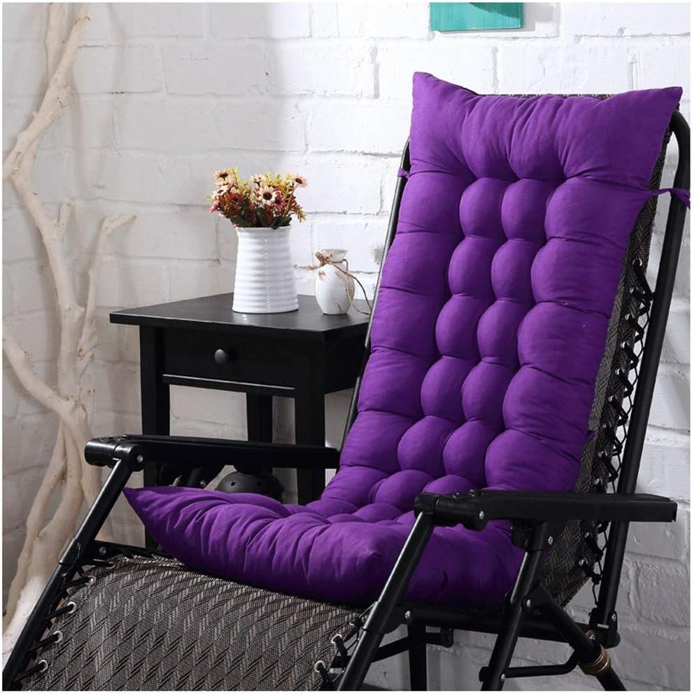 QIANGU Sun Lounger New Regular dealer sales Cushion Thick Deckchair Relaxer Garden Patio