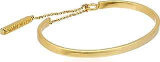 Olivia Burton Women Engravable Drop Bar Bracelet - Gold, OBJ16ENB07 Engravable