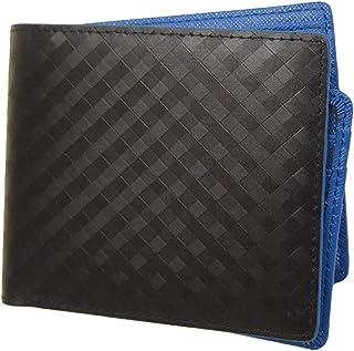 【スペインレザー】高級 短財布 二つ折り財布 大容量