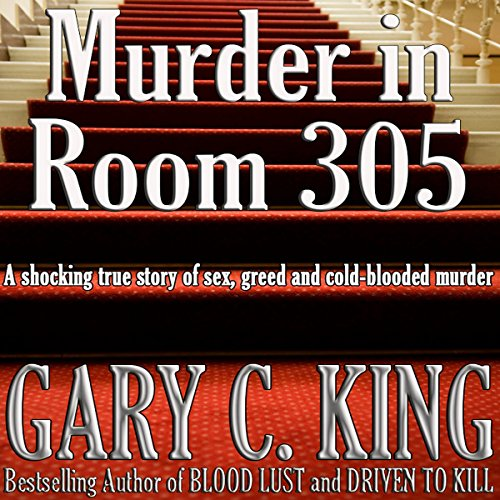 Murder in Room 305 audiobook cover art