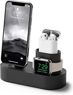 Sponsored Ad – elago Charging Hub Black Color 3 in 1 Charging Dock for iPhone X 8 8 Plus 7 7 Plus and more Apple Airpods A...