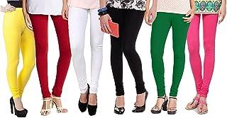 Zakod Cotton Lycra Leggings For Women(Combo Of 6)