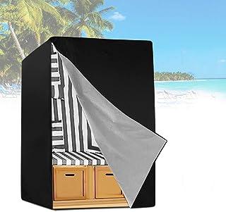 Cubierta Sillón de Playa, Funda Impermeable para Silla de Playa,Cubierta Protectora para Silla de jardín, Funda para Sillón de jardín, Funda para Silla De Playa A Prueba De Polvo
