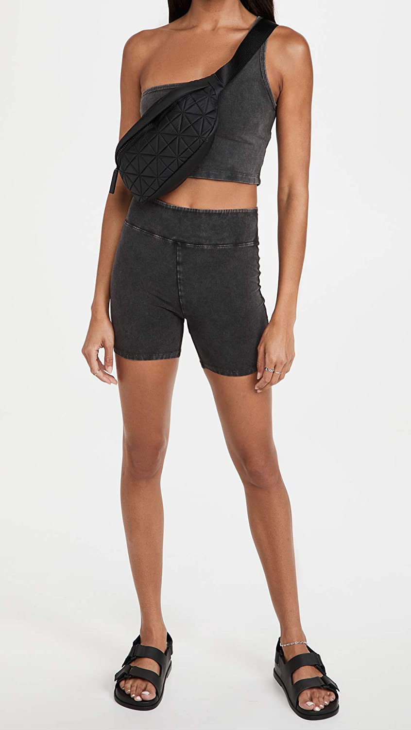 FP Movement by Free People Women's Hot Shot One Shoulder Cropped Tank