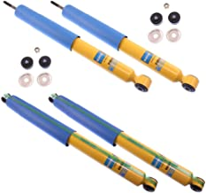 NEW BILSTEIN FRONT & REAR SHOCKS FOR 05-13 FORD F-250, F-350, F-450 SUPER DUTY, INCLUDING FX4 XL XLT KING RANCH LARIAT HARLEY DAVIDSON, SHOCK ABSORBERS, 2005 2006 2007 2008 2009 2010 2011 2012 2013