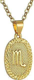 Best scorpio gold necklace Reviews