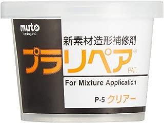 造形補修剤 プラリペア(R) パウダー(粉) 5g P-5 透明