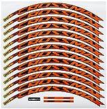 Materiale ad alta resistenza. Ecoshirt SF-BENN-EDCJ Adesivi Stickers Cerchioni Rim Mavic Crossmax SL Pro 26\