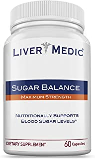 Blood Sugar Support Supplement - Helps to Control & Normalize Blood Sugar Balance w/Alpha Lipoic Acid for Diabetes Support | Made from All-Natural Ingredients (60 Bovine Capsules for Men & Women)