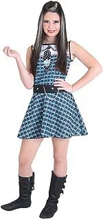 Fantasia Monster High - Frankie Pop 15106-G Sulamericana Fantasias Azul Parareto G 10/12