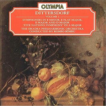 Dittersdorf: Symphonies in E Minor, E-Flat Major, E Major, A Major & D Major