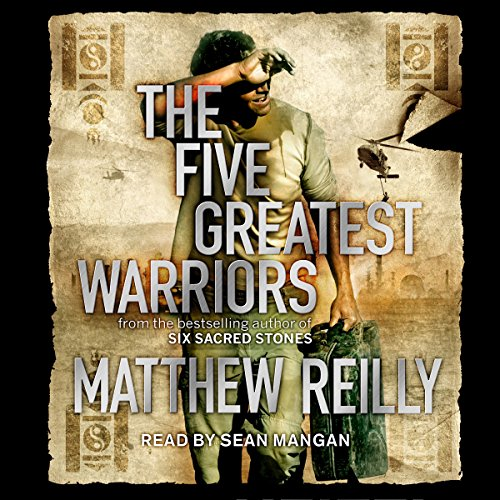 The Five Greatest Warriors audiobook cover art