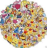 DSSJ Cartoon Winnie The Pooh Skate Water Cup Laptop Graffiti Waterproof Sticker Waterproof Sticker 50Pcs