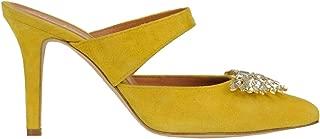 VIA ROMA 15 Luxury Fashion Womens MCGLCAT0000B7159E Yellow Heels | Season Outlet