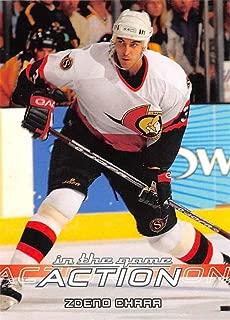 2003-04 In The Game Action Hockey #422 Zdeno Chara Ottawa Senators