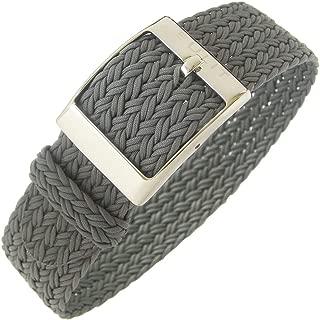 Palma 22mm Grey Perlon Watch Strap