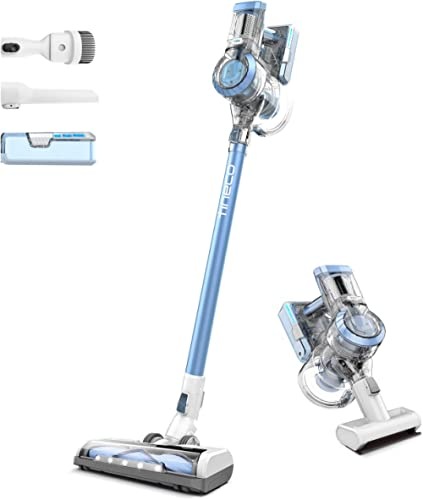 Tineco A11 Hero Cordless Stick Vacuum Cleaner, Powerful Suction, Multi-Surface Cleaning, Great for Pet Hair, Moonstone Blue product image