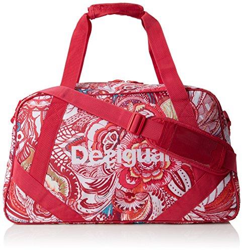 Desigual L BAG P, Bolsa de Medio Lado para Mujer, Rojo (3192 Rouge RED), 24x28x38 cm (B x H x T)