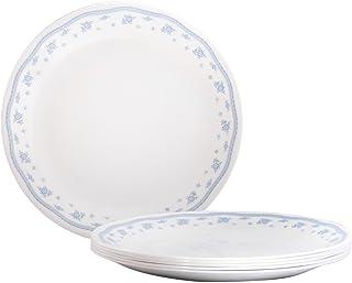 Corelle Livingware Morning Blue Dinner Plate Set 26cm Set of 6