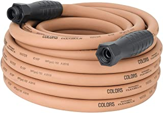 Colors Garden Hose with Swivelgrip, 5/8 in. x 50'., Drinking Water Safe, Red Clay - HFZC550TCS, From the Makers of Flexzilla