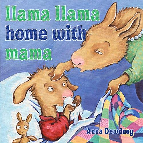 Llama Llama Home with Mama cover art