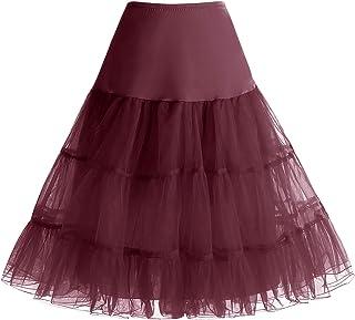 054cf2a8e23 Bbonlinedress Jupon Femme Style année 50 Jupon Rockabilly 4 Tailles à  Choisir