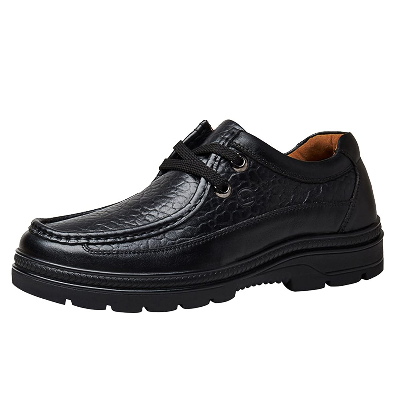 [LANSI] レンシー メンズ 上質 本革 ファッション アウトドアシューズ 柔らか ウオーキングシューズ 通気性 高級感 車縫い 速乾性 男性用 手作り 通勤 滑り止め 快適 皮靴 魅力的 四季 ビジネスシューズ