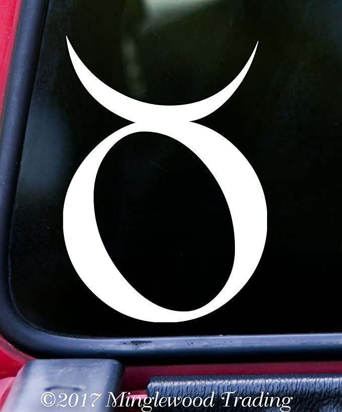 Minglewood Trading TAURUS Vinyl Decal Sticker 5