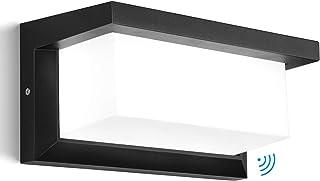 Glighone Applique murale extérieure LED avec 360 ° Éclairage extérieur détecteur mouvement Moderne Étanche Applique extéri...