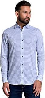 ID Men Sky Blue Slim Fit Shirt