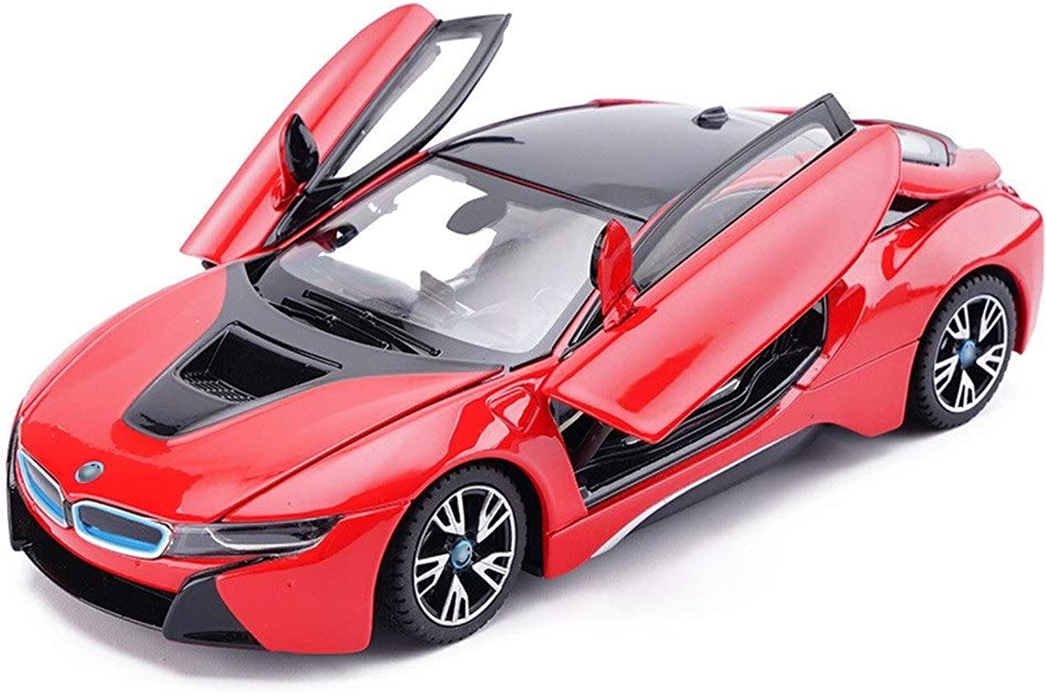 Model car Car Model Sports Car Model 1 24 Scale Model Alloy Model Diecasting Model Toy Car Model Collection Decorative Decoration Gift (color   Red)