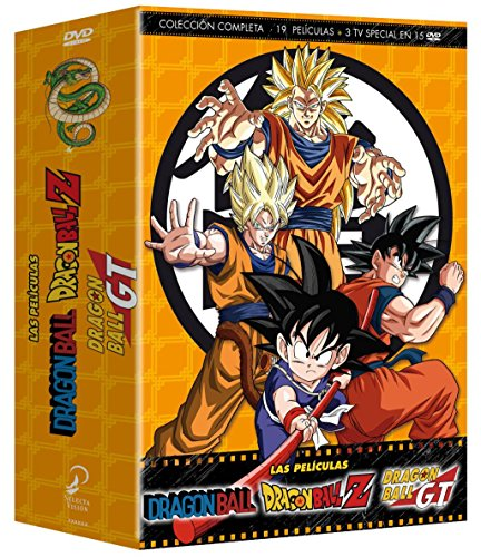 Dragon Ball Dragon Ball Z Die Filme, komplette Kollektion [DVD]