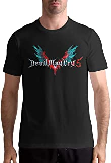 Devil May Cry Men's T Shirt Cotton Fashion Sports Casual Round Neck Short Sleeve Tees