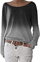 Zanzea Femmes Automne Casual Vrac Lâche Chemise Manches Longues Coton T-Shirt Top Blouse Pull Shirt