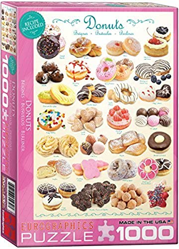 EuroGraphics Donuts 1000 Piece Puzzle by EuroGraphics
