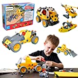 JB - 148 pcs 5-in-1 Model Building Set, Educational Construction Engineering Toy