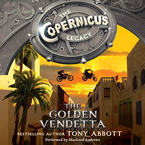 The Copernicus Legacy: The Golden Vendetta audiobook cover art